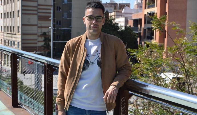 Xavi Rossinyol és membre i coordinador de comunicació de la campanya 'Casa nostra, casa vostra'. Font: FCVS