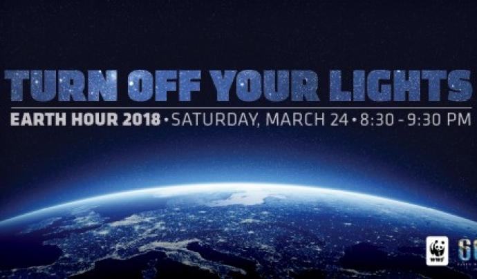 El 24 de març de 2018 se celebra L'hora del planeta Font: WWF