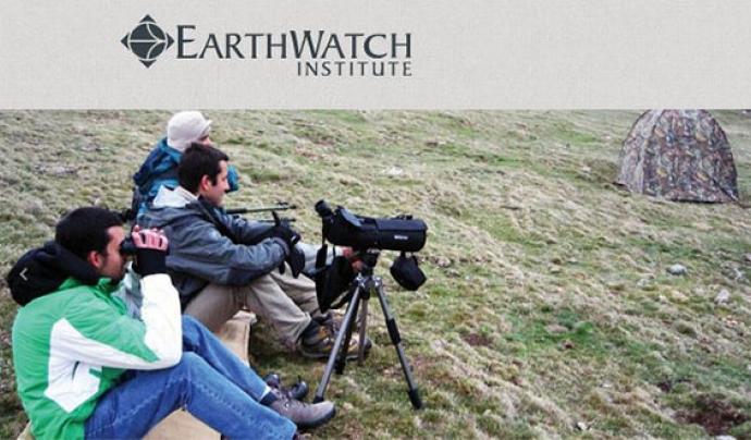 CREAF organitza cada any estades de voluntariat científiques als boscos del Pirineu amb l'ONG Earthwatch. Font: Earthwatch