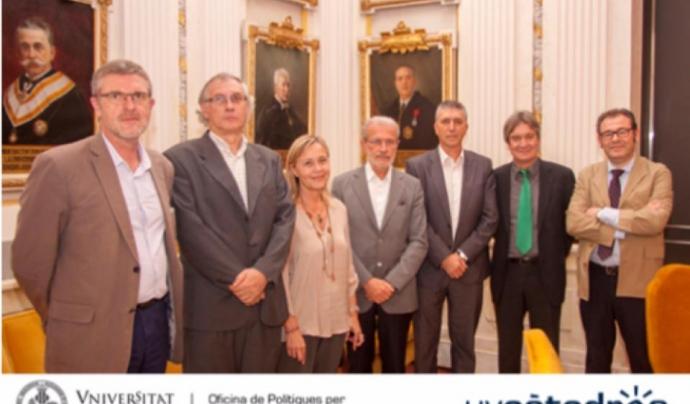 El passat mes de juny es va crear la càtedra d'Economia del Bé Comú en la Universitat de València Font: Universitat de València