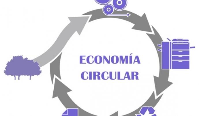 Un bon exemple: aplicació de l'economia circular a la producció i ús de paper Font: Ecoticias