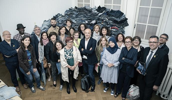 Equip de persones involucrades amb la marca de moda sostenible. Font: Back to eco