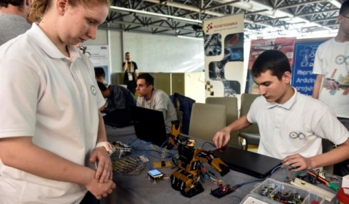 La programació i la robòtica educativa van de la mà