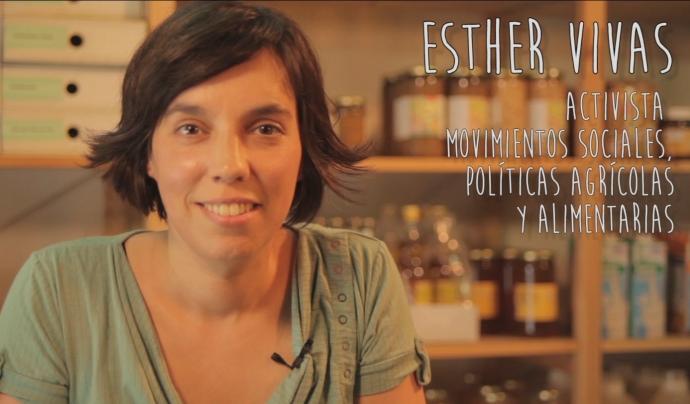 Esther Vivas és periodista especialitzada en mercats agroalimentaris  Font: Esther Vivas