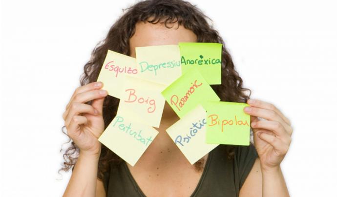 Estigma sobre la salut mental Font: Obertament