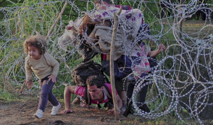 """Fotograma del vídeo """"#EstimatIbrahim"""" Font: RefugeESuoc (Canal de Vimeo)"""