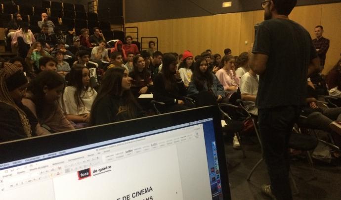 L'associació Fora de Quadre impulsa el Festival de Cinema de Drets Humans Font: Associació Fora de Quadre