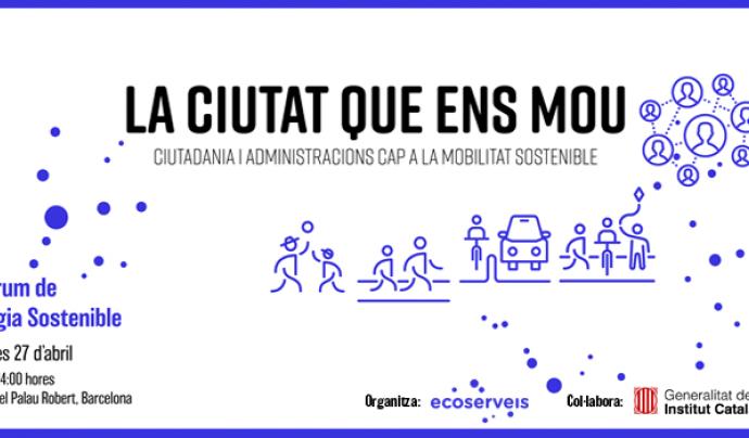 El Fòrum de l'Energia Sostenible se celebra el 27 d'abril al Palau Robert de Barcelona Font: Ecoserveis