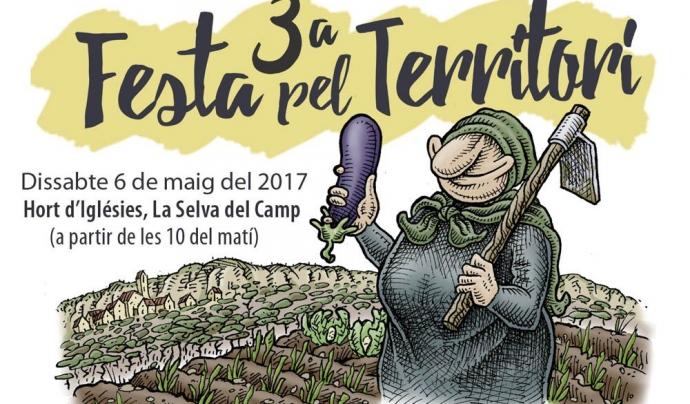 La Festa del Territori se celebra el 6 de maig a la Selva del Camp Font: Festa del Territori