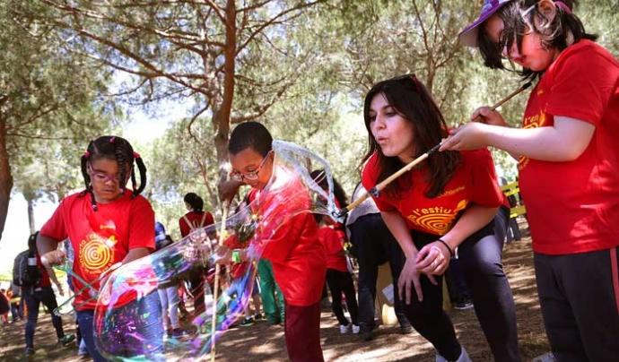 La Festa Esplai ofereix una cinquantena d'activitats lúdiques. Font: Fundesplai