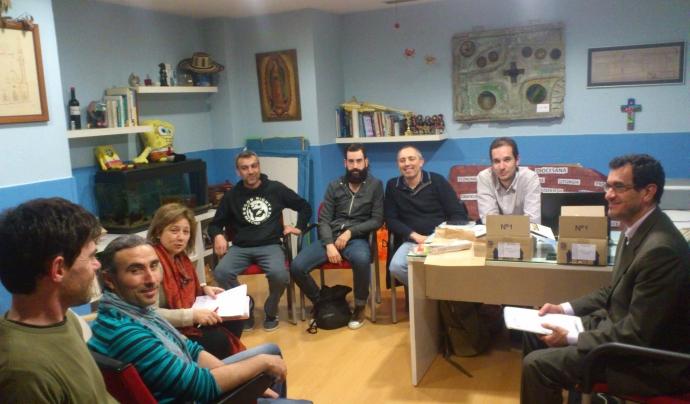 Reunió dels socis i sòcies del grup territorial de Fiare Banca Ètica a Galícia. Font: Fiare Banca Ètica