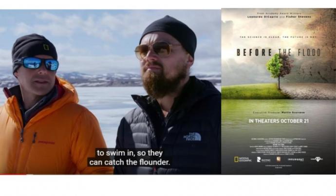 Before the flood, el documental de Leonardo Di Caprio, també es projecta al Ficma d'enguany