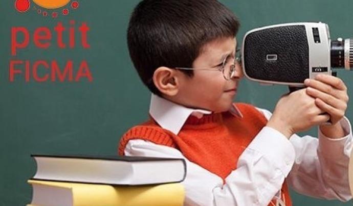 Amb el projecte 'Cada aula un cinema' el FICMA porta el cinema ambiental a les escoles Font: Ficma