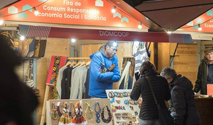 La fira comptarà amb més de 60 propostes alternatives de consum. Font: Ajuntament de Barcelona
