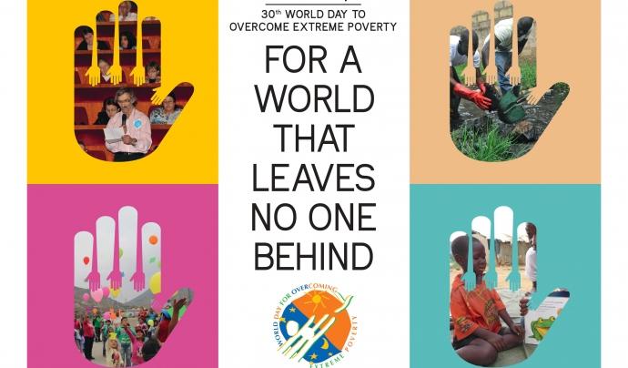 Flyer de la campanya. Font: Stop Poverty