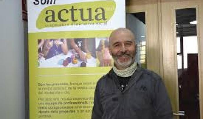 Miquel Àngel Carreto és director general de la cooperativa Actúa.  Imatge de Miquel Àngel Carreto. Font: Miquel Àngel Carreto.