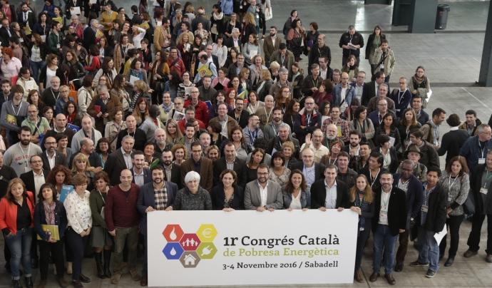 El I Congrés Català de Pobresa Energètica es va celebrar el 2016 a Sabadell. Font: Taula del Tercer Sector