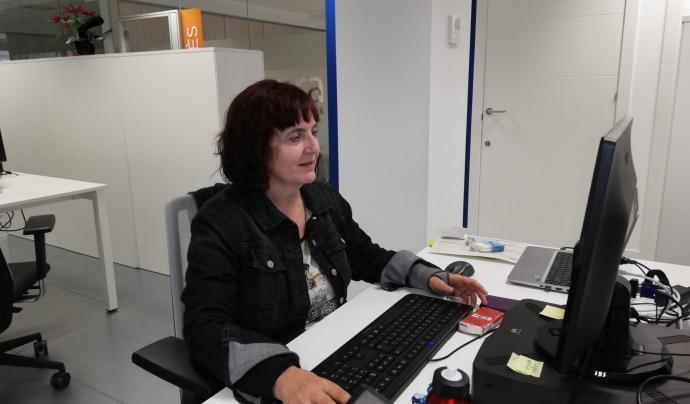 La Isabel Casado és tècnica de participació de la Cooperativa Suara. Imatge de Isabel Casado. Font: Isabel Casado