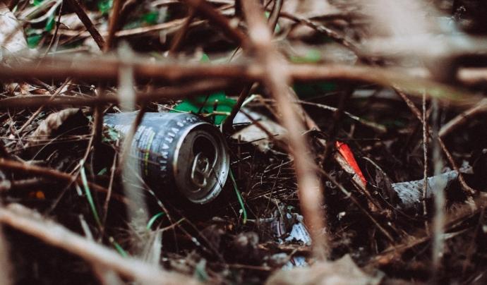 La iniciativa vol conscienciar sobre la quantitat de residus que es llencen incontroladament a la natura  Font: CC