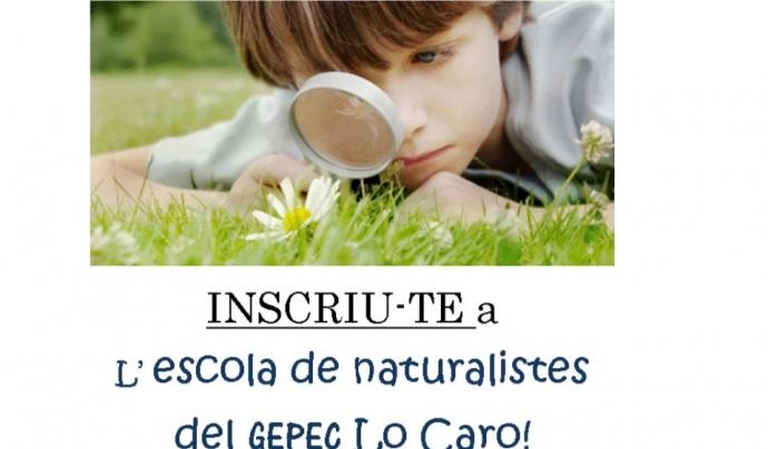 L'entitat ambiental GEPEC proposa l'Escola de Naturalistes per a activitats de lleure i extraescolars