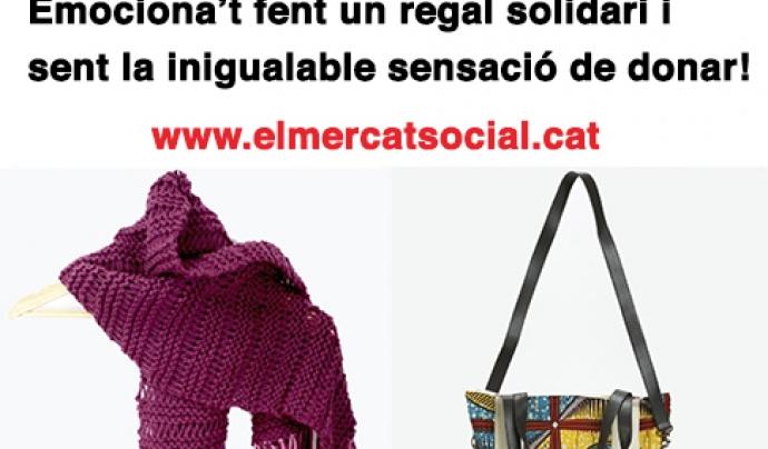 Pel Giving Tuesday compra a El Mercat Social Font: FCVS