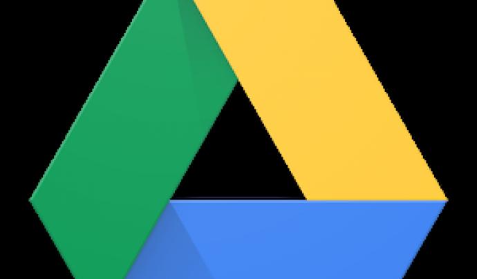 Logotip de Google Drive Font: Google Drive