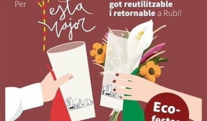 L'ajuntament de Rubí acondiciona punts de neteja dels gots  Font: Festa Major de Rubí
