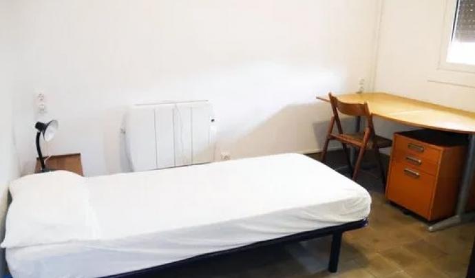Habitació nova a la Llar Impuls. Font: Centre Assís