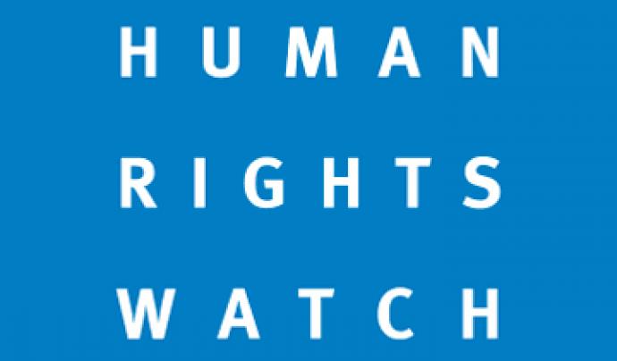 Logo de Human Rights Watch.
