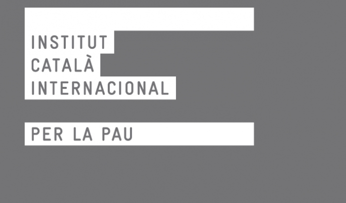 Logo de l'Institut Català per la Pau.