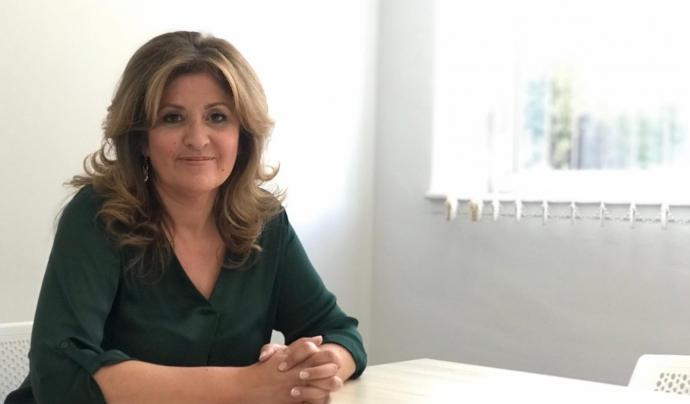 Eva Barta reclama més visibilitat per a les persones amb trastorn mental. Font: Salut Mental Ponent