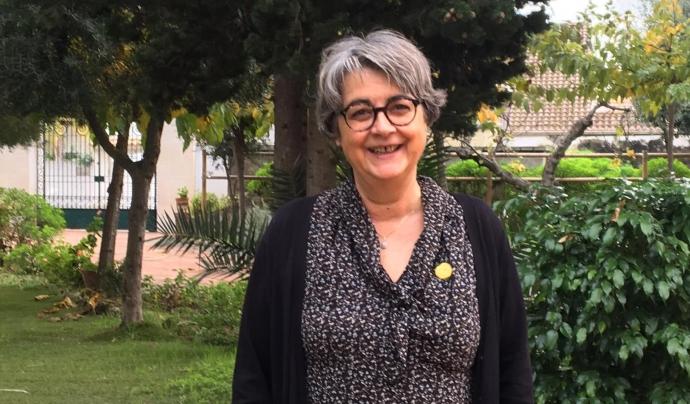 Montserrat Falguera ha participat en el debat 'Posar la persona al centre de l'atenció' del VI Congrés. Font: Montserrat Falguera