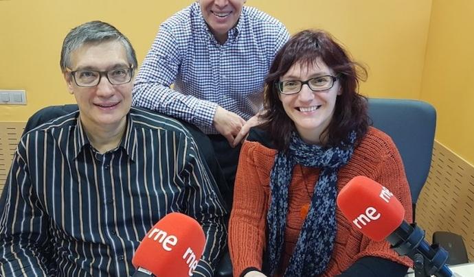 Rosa Garcia al programa Econòmix de Radio 4