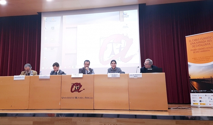 Maria Garcia d'Ecologistes en Acció al Primer Congrés de Dret Ambiental