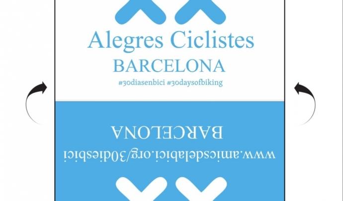 Es recomana imprimir aquesta targeta i identificar la bicicleta amb ella
