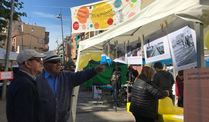 La festa del barri badaloní vol potenciar un major desenvolupament comunitari. Font: Fundació La Salut Alta
