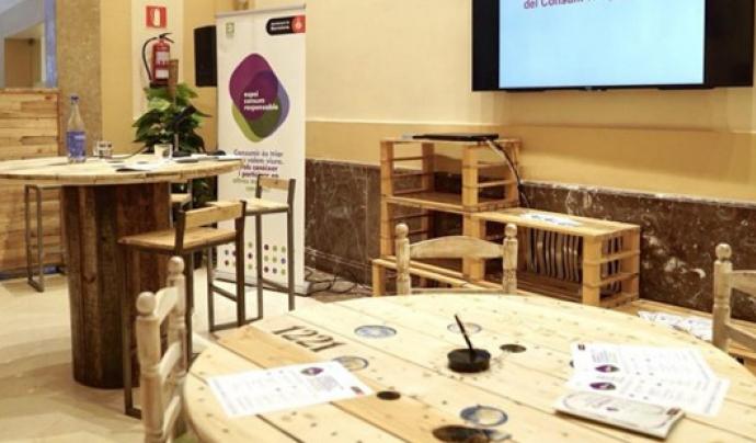 L'Espai Consum Responsable pretén estendre una nova cultura de la sostenibilitat. Font: Ajuntament de Barcelona