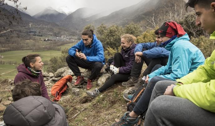 Projecte Boscos de Muntanya per a joves Font: Projecte Boscos de Muntanya