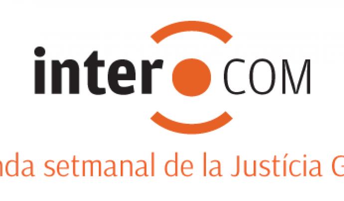 Intercom, agenda setmanal de la Justícia Global. Font: Intercom