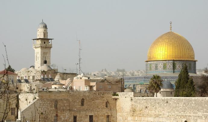La mesquita d'Al-Aqsa s'ha convertit en un punt geogràfic clau.  Font: Llicència CC