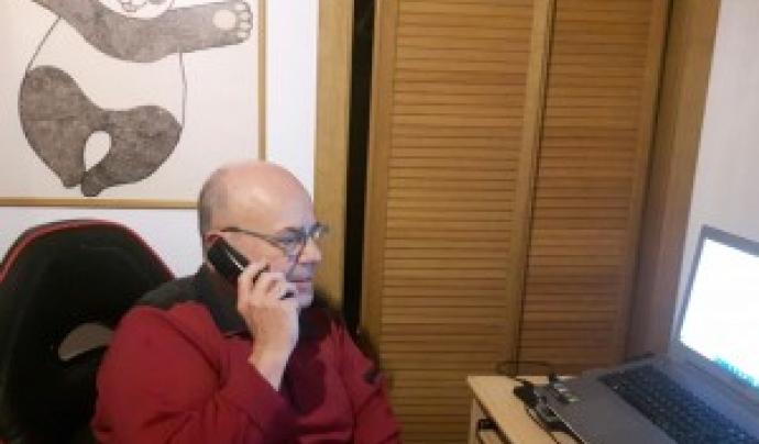 Amics de la Gent Gran llança una Plataforma d'Acompanyament Telefònic per a persones grans. Font: Voluntaris.cat