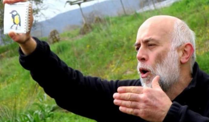 Joan Manel Riera, membre de la Societat Catalana d'Educació Ambiental Font: A.Velasco