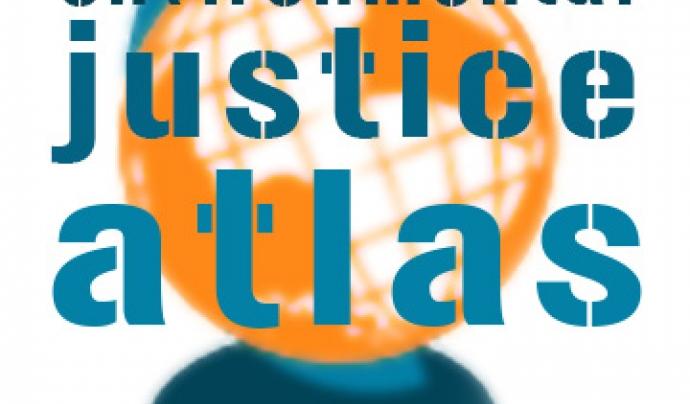 Logo de l'Atles de Justícia Climàtica. Font: Pinterest