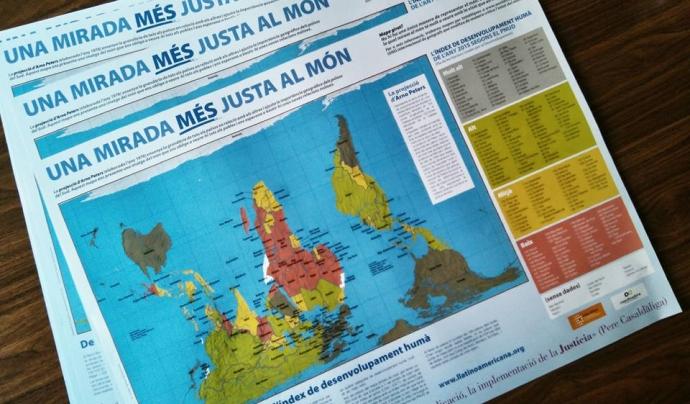 Mapes elaborats per una mirada més justa del món.