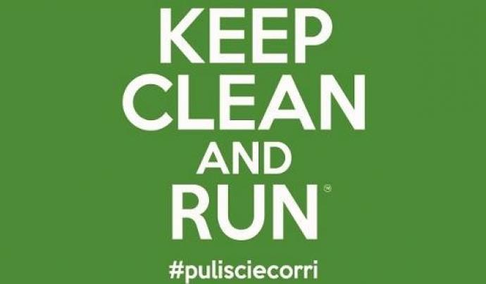La Keep clean and run que se celebra a Itàlia des del 2015, inspiradora de les entitats ambientals catalanes.  Font: Keep clean and run