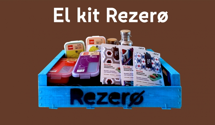 El Kit Rezero per assumir el repte de viure sense generar residus Font: Fundació Rezero