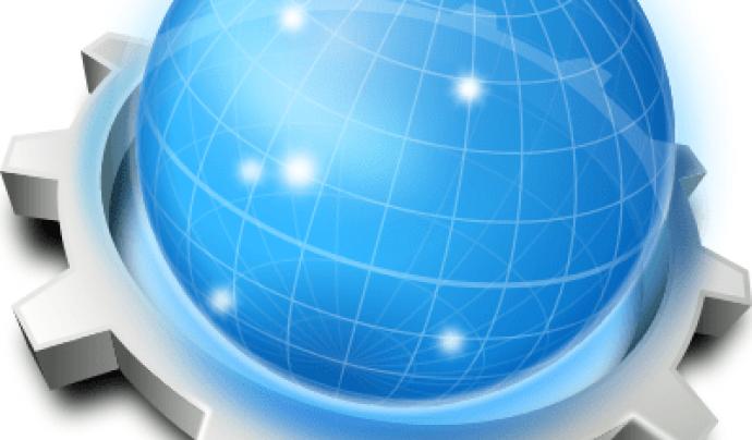 Konqueror és un navegador web poc conegut però molt ràpid i eficient. Imatge de Konqueror.  Font: Konqueror