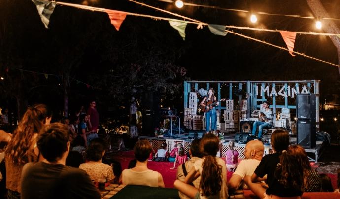 Concert en directe durant la desena edició. Font: Albert Rué