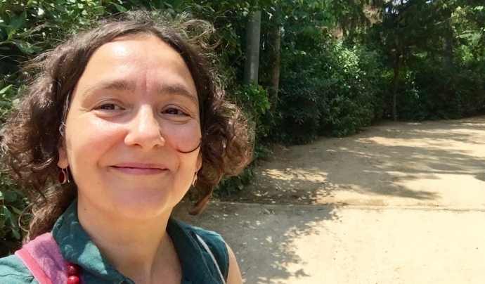 Laia Botey, de l'Associació Som Natura Font: Laia Botey