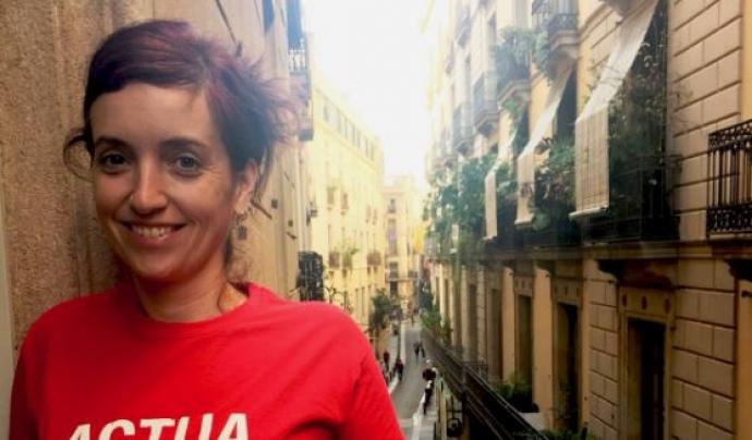 Laura Cardús, a càrrec del projecte 'enTàndem' a AFEV.
